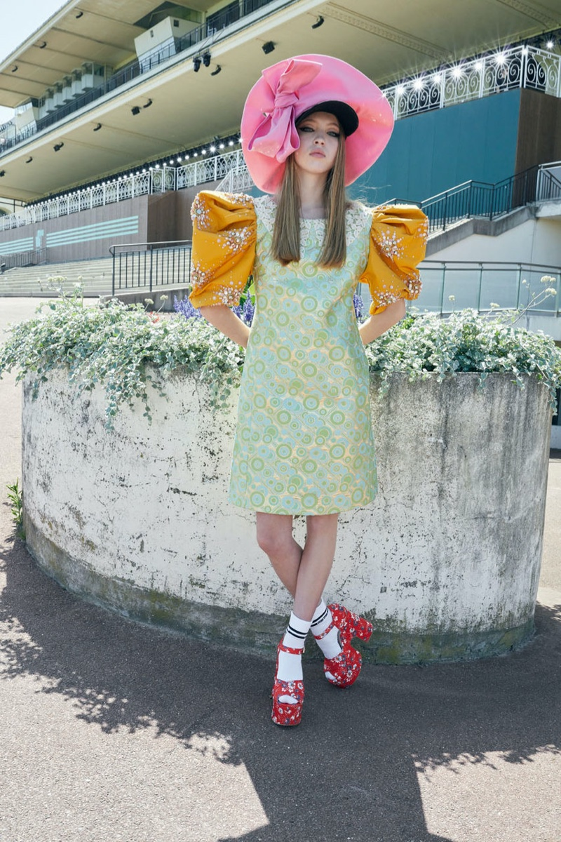 Lila Moss fronts Miu Miu cruise 2020 campaign