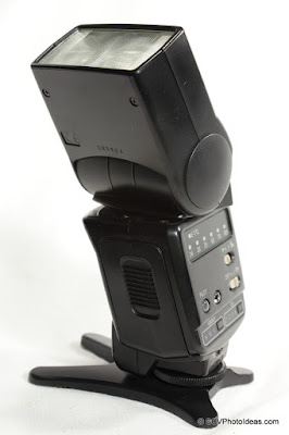 Canon Speedlite 420EX flash head tilt & swivel