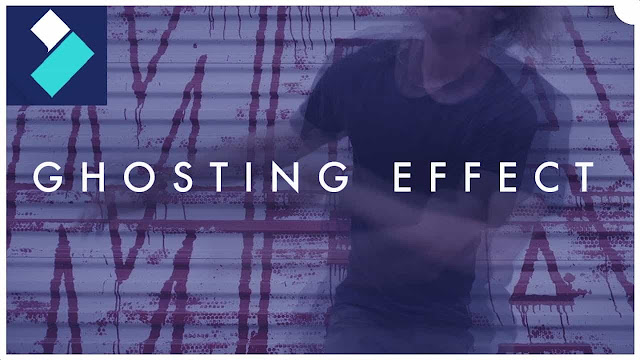 دورة تعلم وشرح filmora عمل مؤثرات أفلام الرعب ghost effect