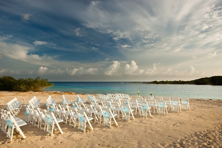 Menu And Reception Set Up At Sibonne In The Turks And: Turks And Caicos Resorts: Wedding Packages At Hyatt