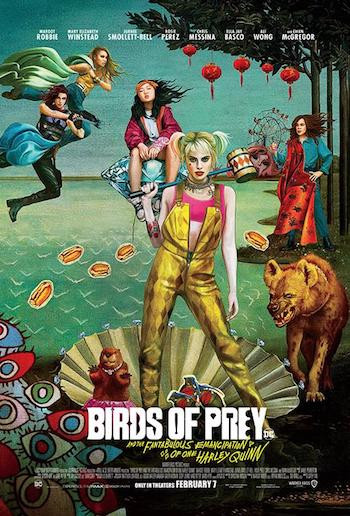 Birds Of Prey 2020 480p 300MB