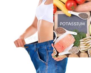 Perte de poids et aliments riches en potassium