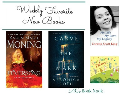 Weekly Favorite New Books in children's YA Adult fiction and nonfiction