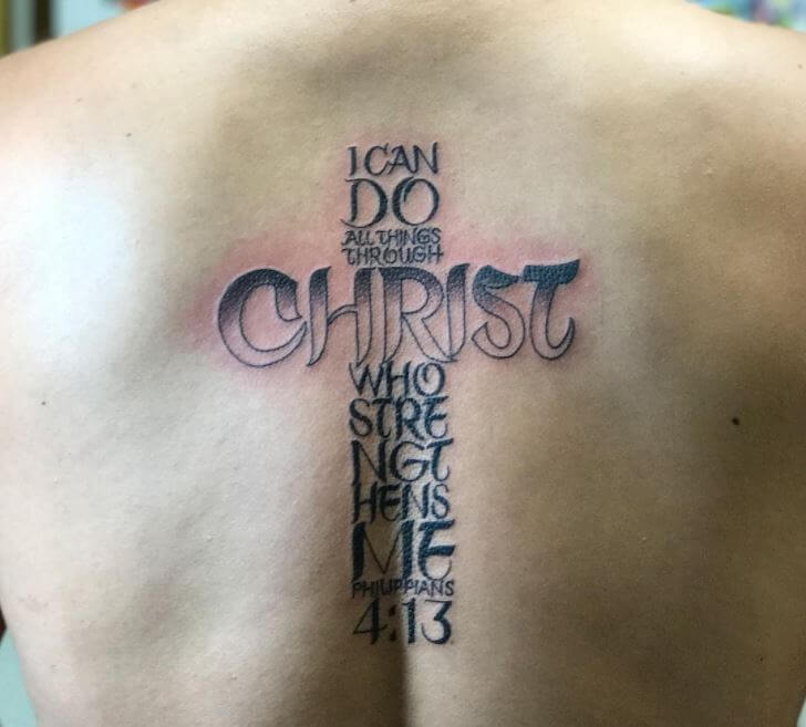 150+ Unique Christian Tattoos For Men (2019)