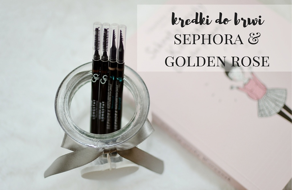 kredki do brwi sephora golden rose