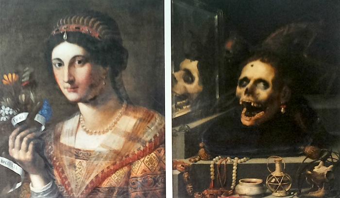 Mostra Jacopo Ligozzi Firenze - Ritratto femminile e natura morta macabra, 1604