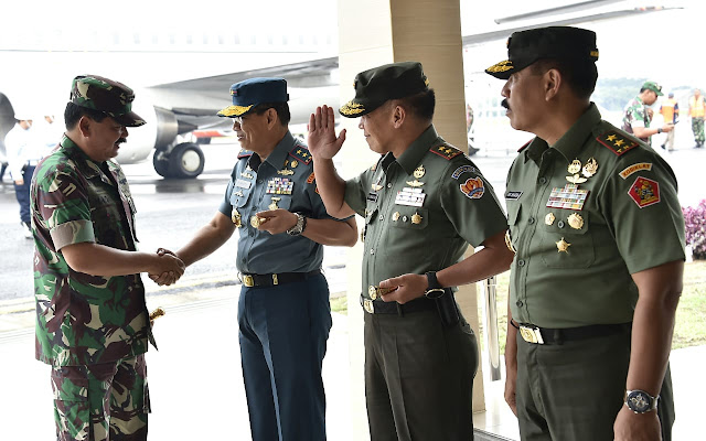 Panglima TNI Kunjungan Kerja ke Bandung