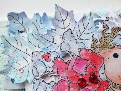 Татьяна Власова* скрап *открытка* Новый год* Магнолия