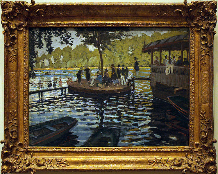 Making a mark the impressionists painting and revolution for La grenouillere