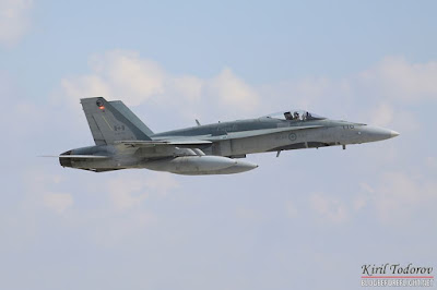 Canadian Hornets Air Policing Romania