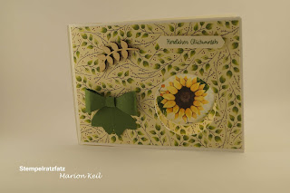Peek-a-boo Karte Herbst mit Stampin´ Up!