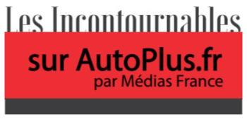 """Logo """"Les Incontournables sur AutoPlus.fr par Médias France"""""""