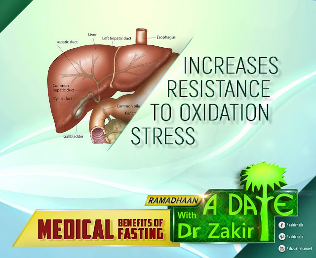 INCREASES RESISTANCE TO OXIDATION STRESS   RAMADAN by Ummat-e-Nabi.com 2020