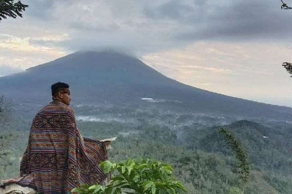 Kepala KPW Provinsi Lampung, Budiharto Setyawan : Angka tujuh persen ini cukup besar bagi wilayah Lampung, kalau dibandingkan dengan Provinsi Bali yang mencapai sekitar 25 persen