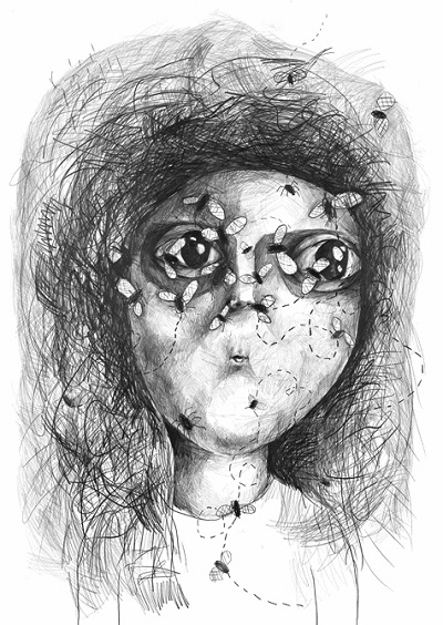 """Flies"", 2010 - Stefan Zsaitsits 