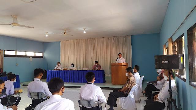 Sekda Subang saat membuka Acara Ujian Perusahaan Swasta