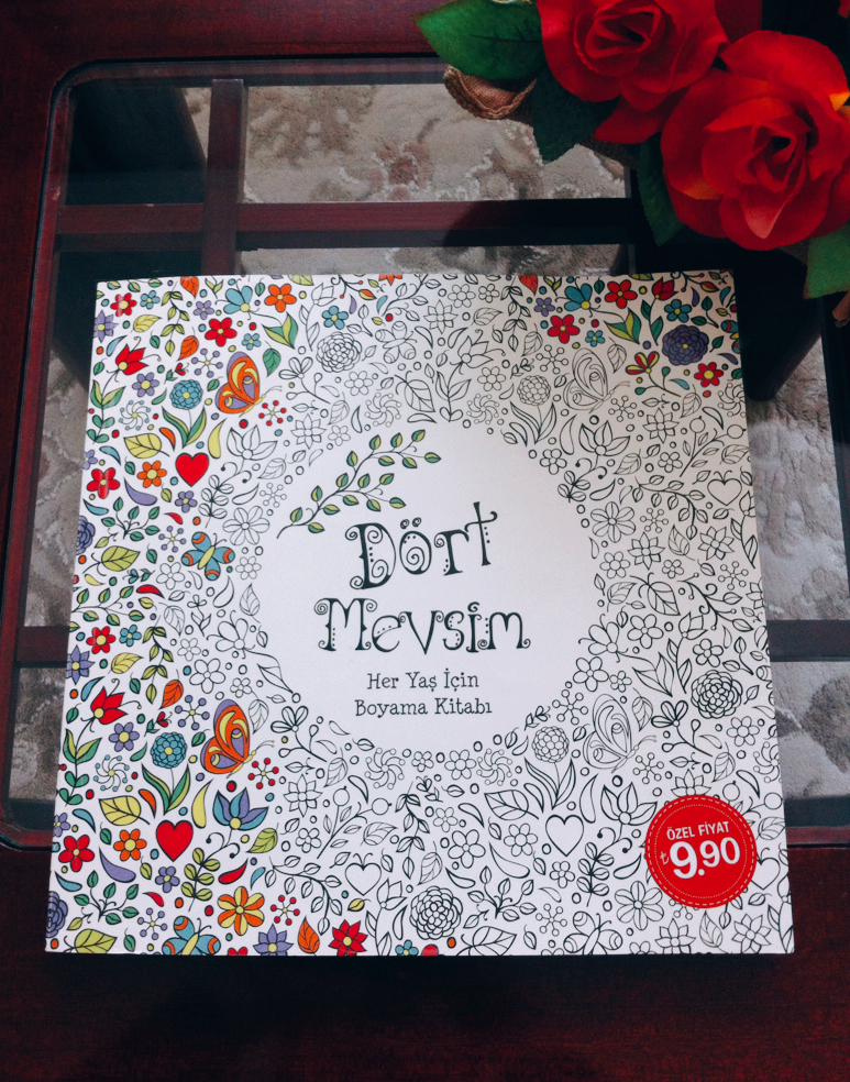 Elossoles Dort Mevsim Boyama Kitabi