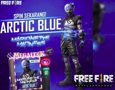 Arctic Blue Free Fire Sudah Dapat Dimainkan Dari Diamond Royale