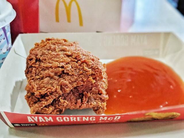 Pedas Sangat Ke Menu Baru Ayam Goreng McDonald's Extra Spicy 3X ini?