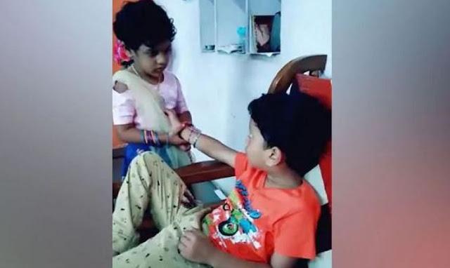 राखी बंधवाने में भाई ने दिखाए नाटक, तो बहन ने किया ऐसा... - newsonfloor.com