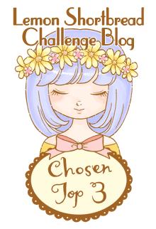 Top 3 Winner at Lemon Shortbread Challenge Blog