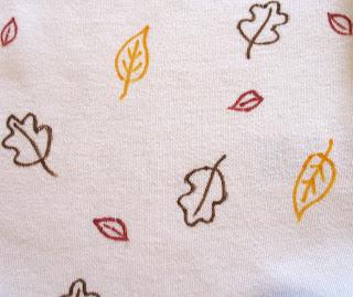 autumn onesie