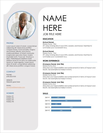Template Riwayat Hidup Format Microsoft Office Word Versi 11