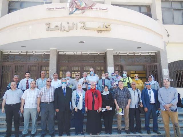 مني الخشاب تترأس إجتماع مجلس كلية الزراعة جامعة الفيوم للعام الدراسي ٢٠٢٠/ ٢٠٢١