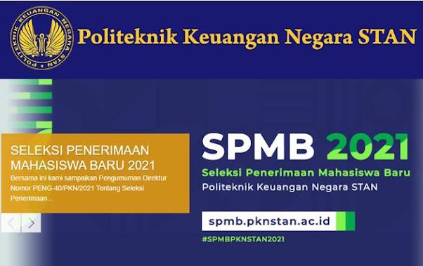 SPMB 2021 PKN STAN