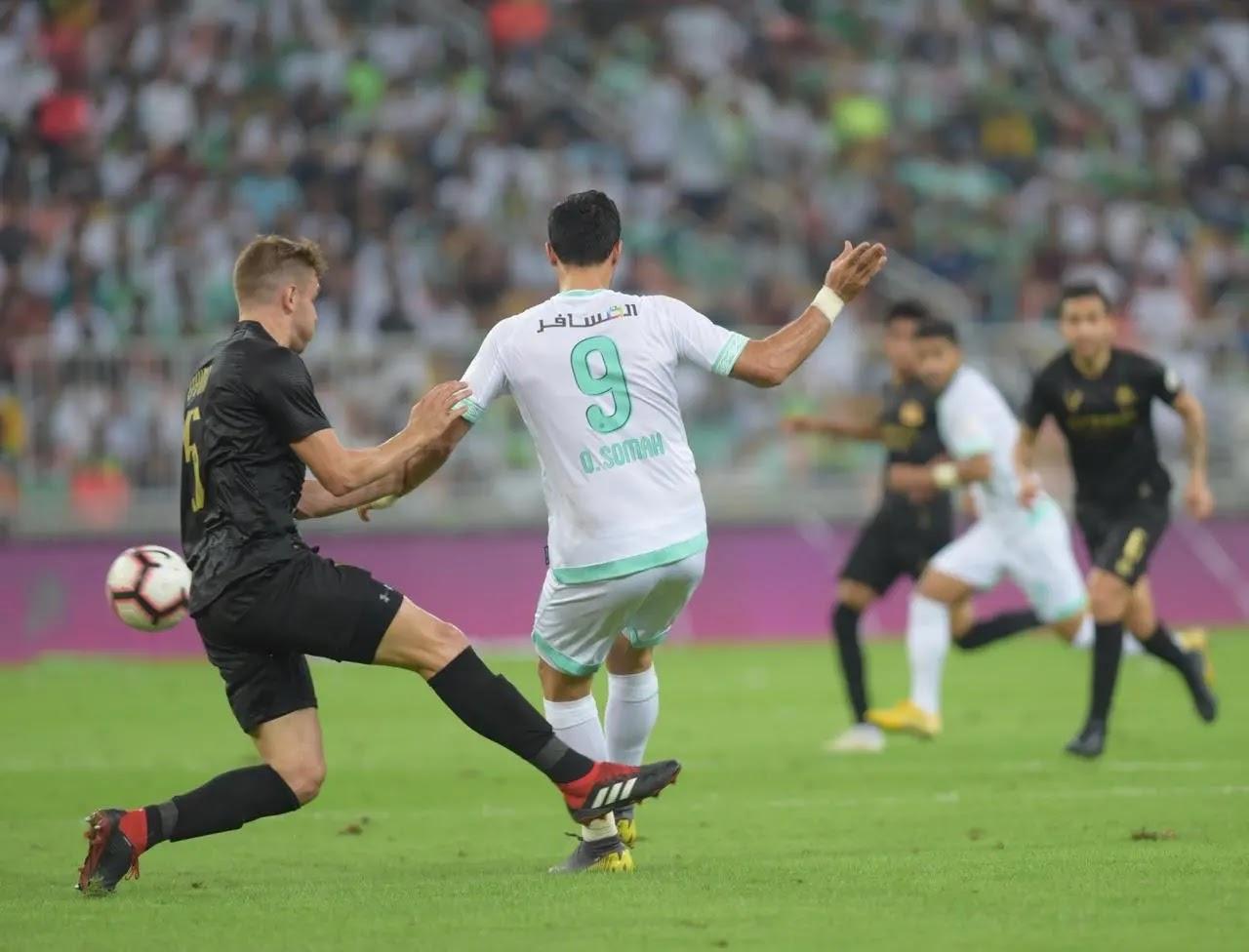 موعد مباراة الأهلي والنصر السعودي الدوري السعودي