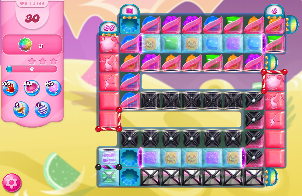 Candy Crush Saga level 8144