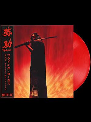 Flying Lotus Yasuke red vinyl LP preorder