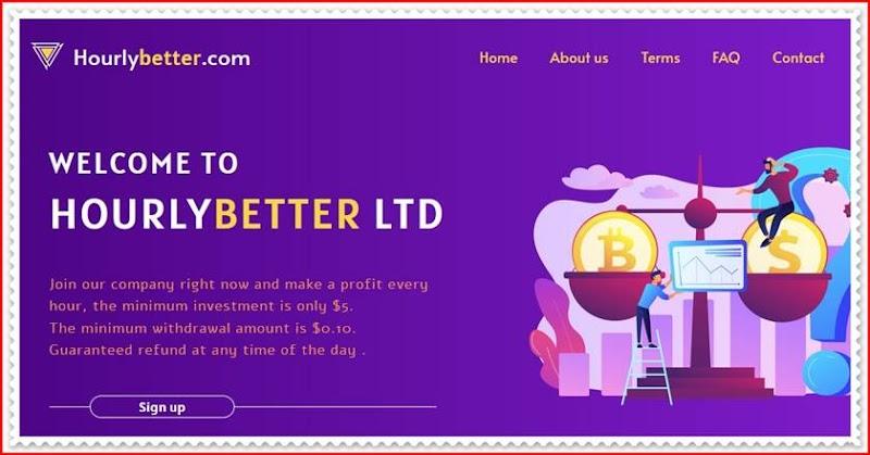Мошеннический сайт hourlybetter.com – Отзывы, развод, платит или лохотрон? Мошенники