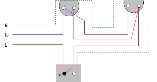 wiring diagram for intermediate switch all about electical practical 1 one way    switch    control  all about electical practical 1 one way    switch    control