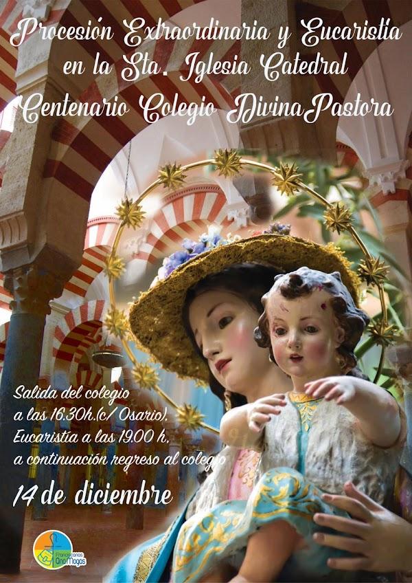 Cartel de la Procesión Extraordinaria Divina Pastora de Córdoba