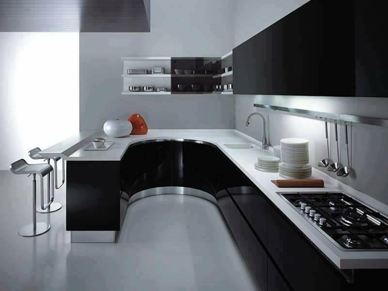 Desain Dapur Minimalis Modern Unik dan Keren