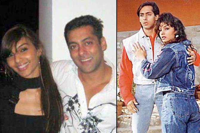 Image result for SALMAN AND SOMI ALI
