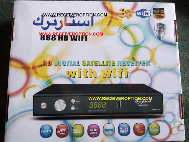 STAR TRACK 888 HD WIFI AC/DC RECEIVER CCCAM OPTION