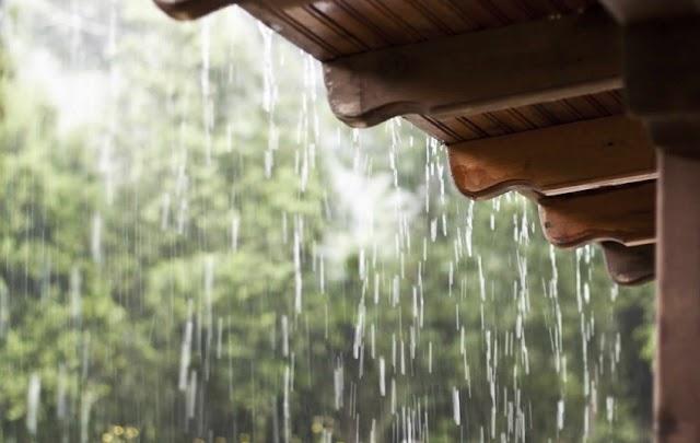 Julho termina com chuva, Rafael Fernandes registrou precipitação durante a madrugada