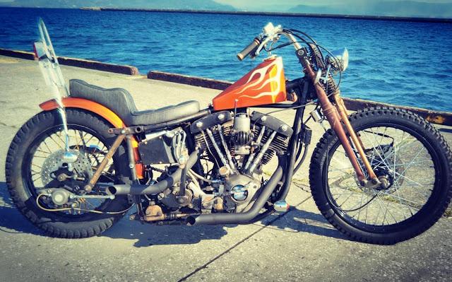 Harley Davidson By G-Spirited Hell Kustom