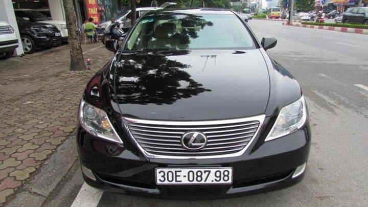 Lexus LS 460 đời 2008 - xe sang cũ giờ rẻ hơn Toyota Camry