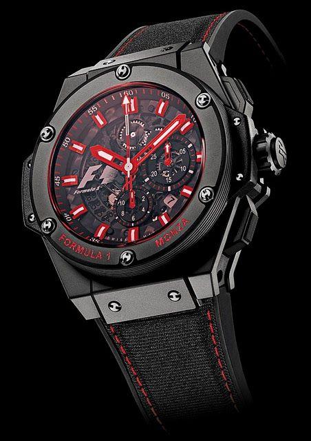 8aac4a2fd4164 Replica de relógio Hublot Monza. Cod 00290
