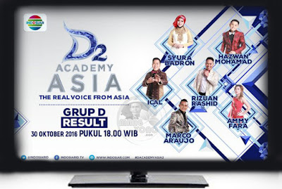 D'Academy Asia 2 ( D'AA 2) Grup D Babak 36 Besar