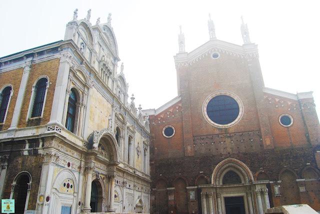 Basílica Santi Giovanni e Paolo junto a la Scuola Grande di San Marco, Venecia