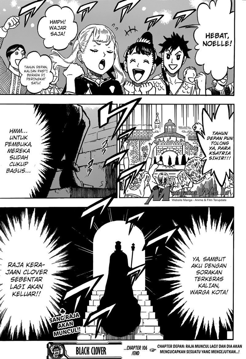 Black Clover Chap 106 Bahasa Indo