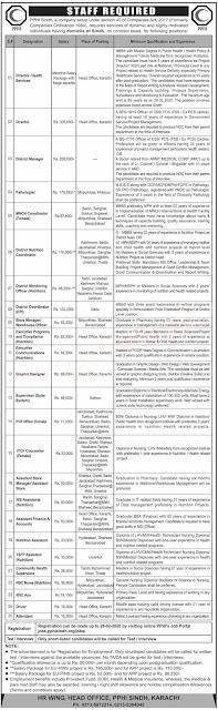 Primary HealthCare Department Jobs 2020
