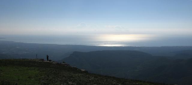 La costa des de la Serra de Llaberia, al Priorat