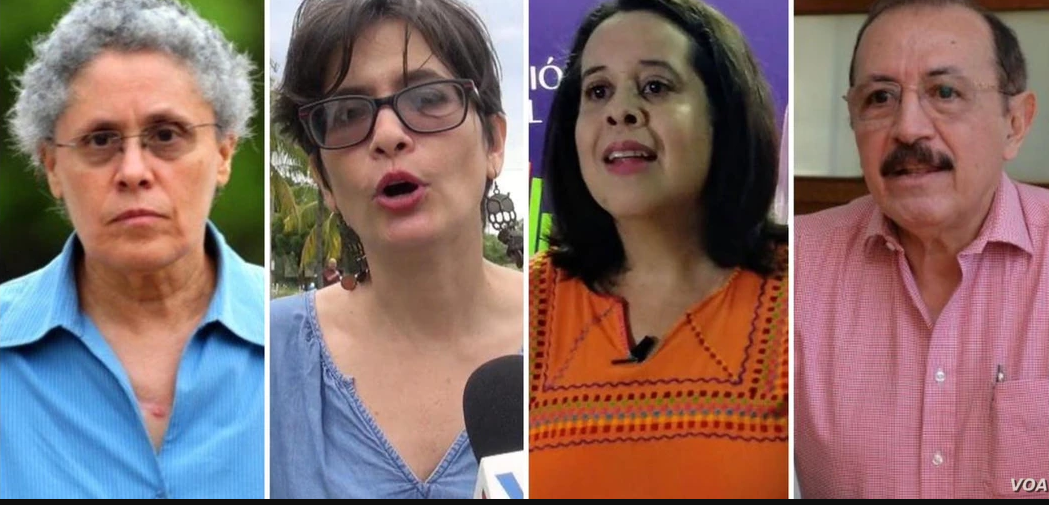 De 11 líderes opositores arrestados, cuatro de ellos son precandidatos presidenciales / VOA