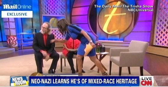 Neo-Nazista descobre que tem DNA africano ao vivo na TV e fica chocado