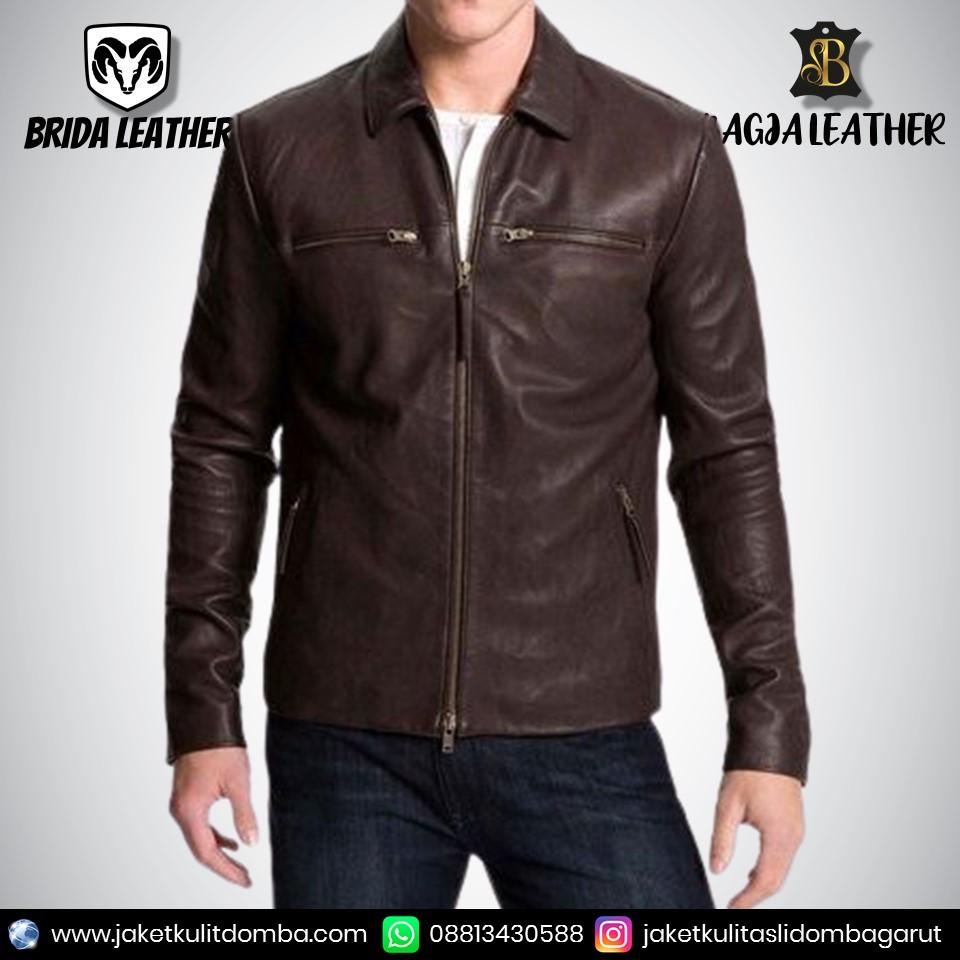 jaket kulit elegan